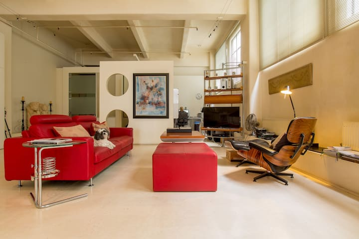 Spacious Warehouse Apartment on Flinders Lane.