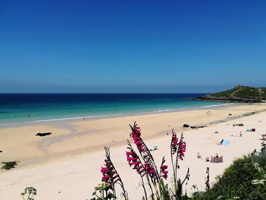 Beautiful St Ives (Porthminster Beach) - 20 minutes drive from apartment