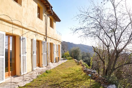 New: Villa Gianna near Dolcedo - lovely sea view - Dolcedo - Ev