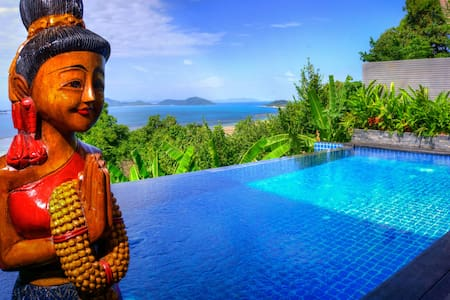 Ocean View 1 Bed Villa with Large Infinity Pool