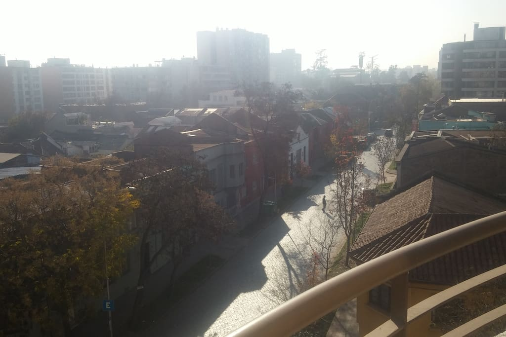 Vista desde el balcon del dormitorio