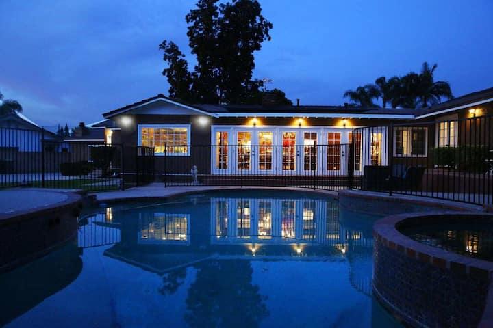 A-Home 3404洛杉矶温馨的家,中文房东,双床房