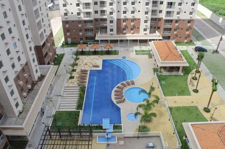 Apartamento mobiliado no Ecoparque, Rod. BR 316