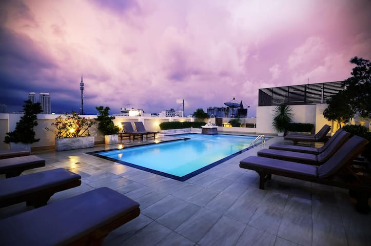 1 BR Amazing Bangkok Room  @Rikka Inn Thailand