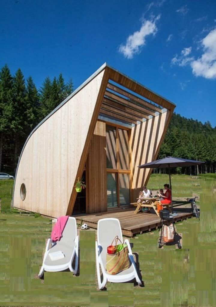 Eco-Lodge au pays des lacs et des montagnes