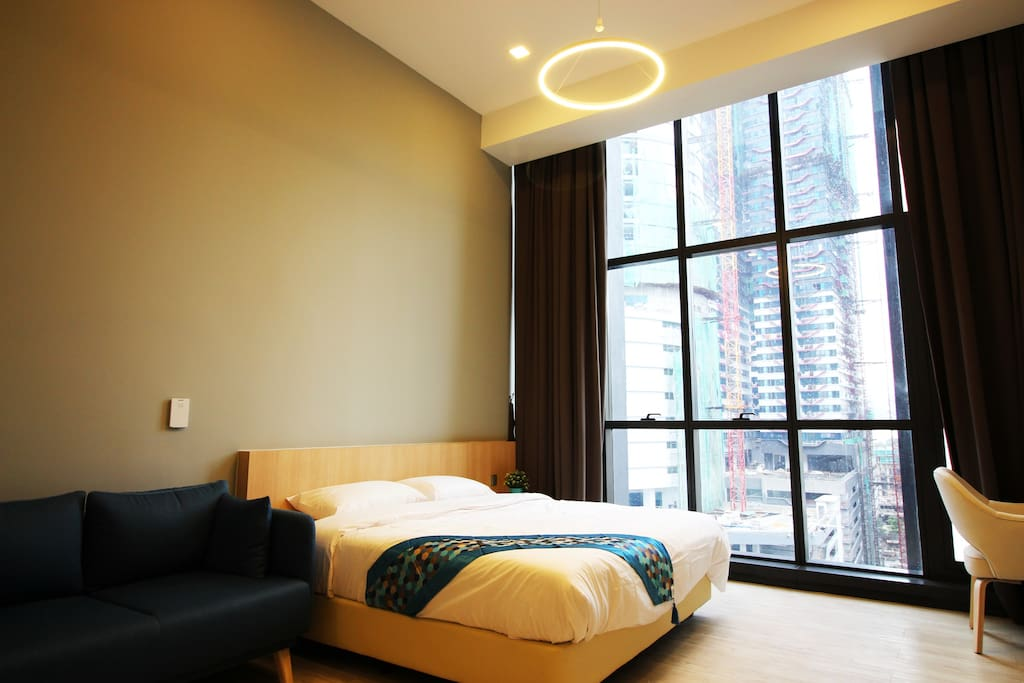 Exclusive living and bed space