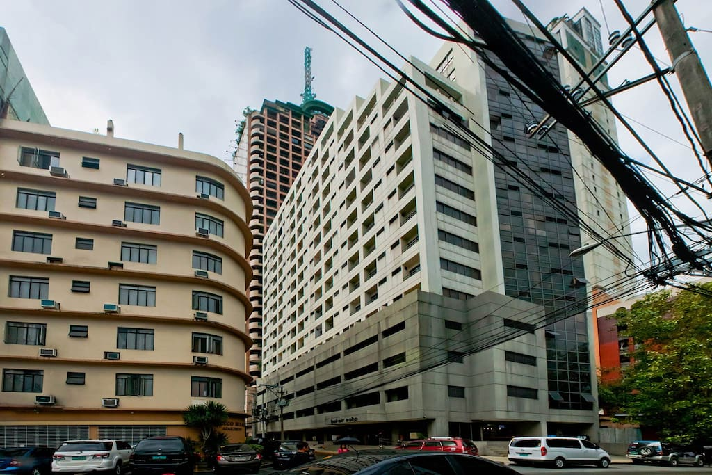Bel Air Soho is a condo-tel unit situated near makati ave and buendia.