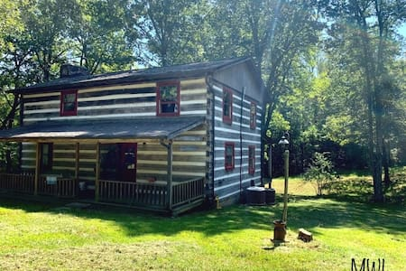 My Old Kentucky Home!  Restful Log cabin retreat..