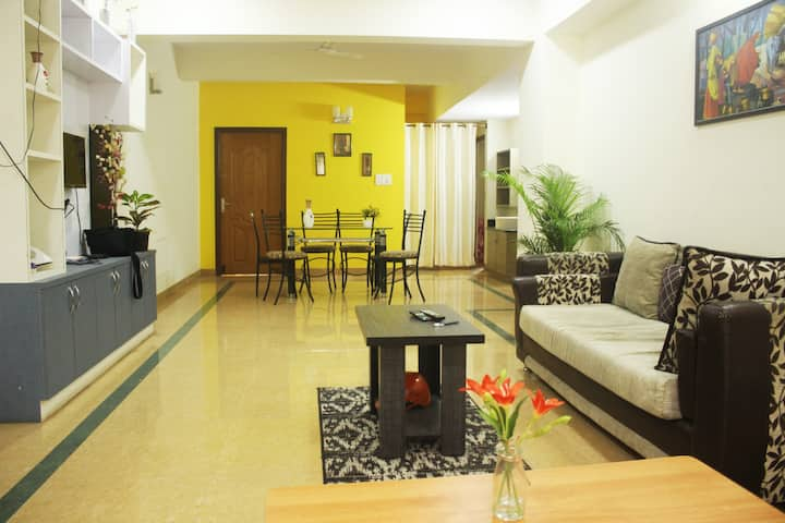 DivBNB :Entire 3BHK flat  in Whitefield