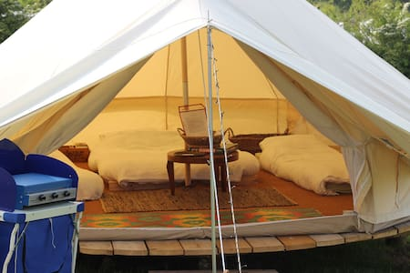 Meadow View Bell Tents - Butterfly 5m Bell Tent - Horton - Stan