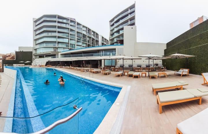 Dpto. de Playa_ Condominio OCEAN REEF_SAN BARTOLO