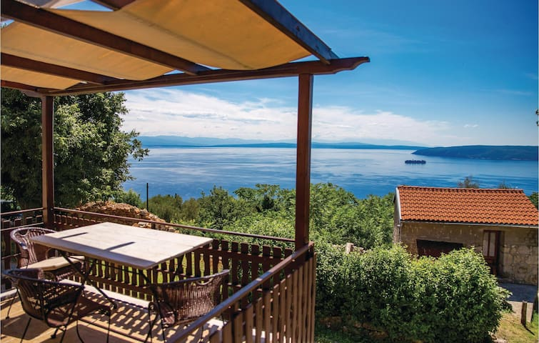 Holiday cottage with 1 bedroom on 34m² in Moscenicka Draga