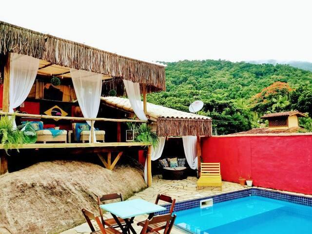 La Gloria Beach Hostel / Suíte privativa  casal