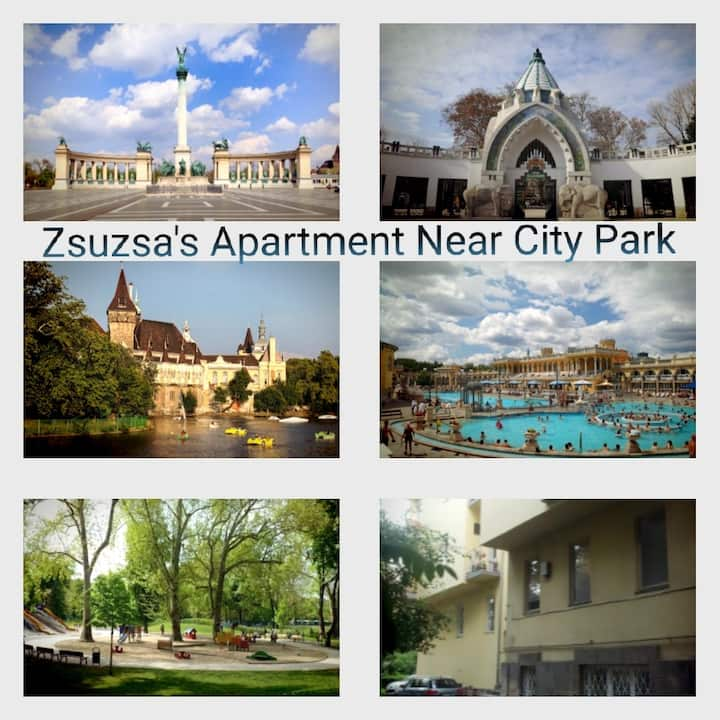 Zsuzsa's Apartment Near City Park