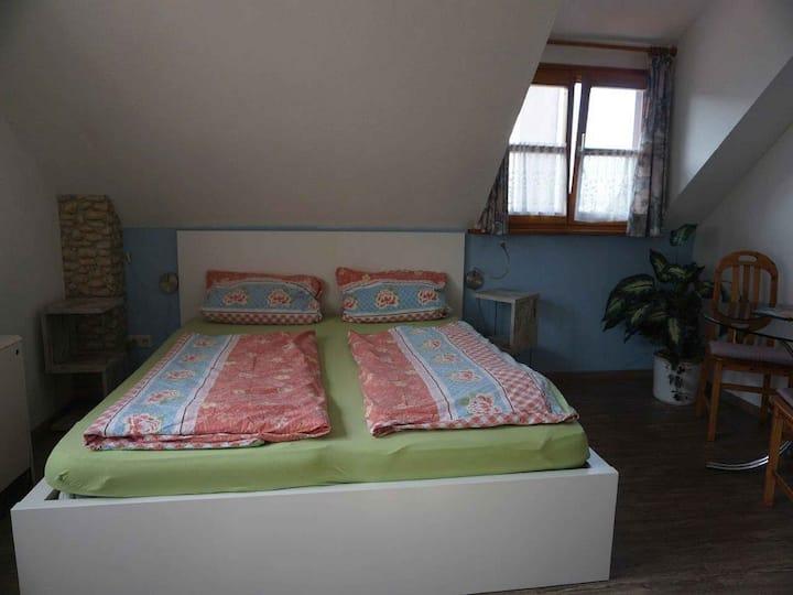Pension Ins Fischernetz - Mäntele, (Meersburg), Doppelzimmer Swiss 19qm mit Dusche/WC