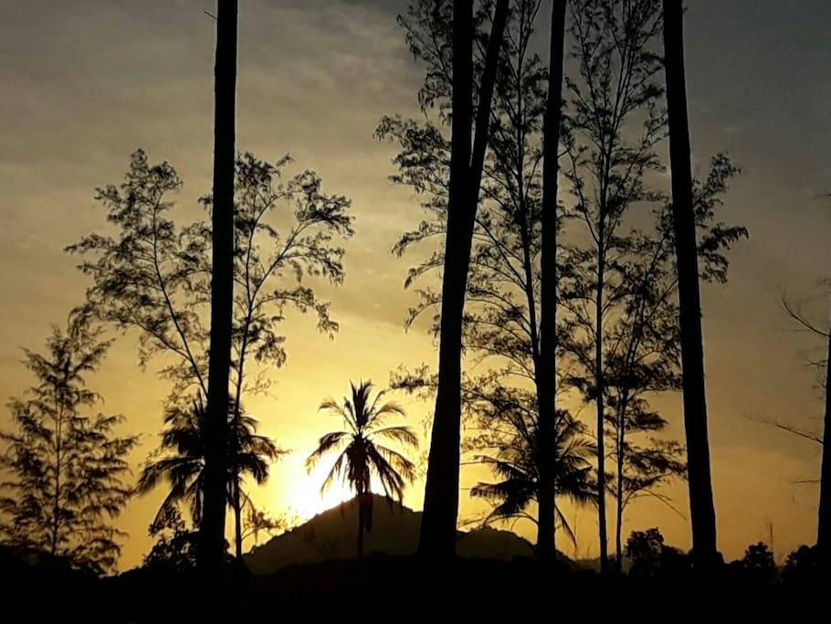 Sunrise at GVS Environment camp