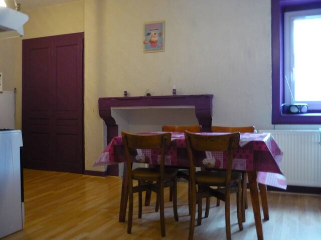 """Ancolie""  Appartement confortable et indépendant - Septmoncel - Appartement"