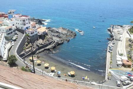 Tenerife Los gigantes Квартира с видом на океан - Santiago del Teide - Apartment-Hotel