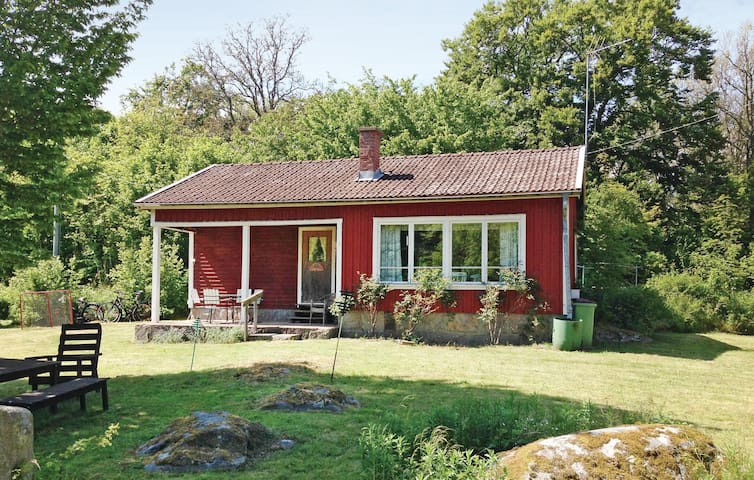 Holiday cottage with 2 bedrooms on 53m² in Listerby