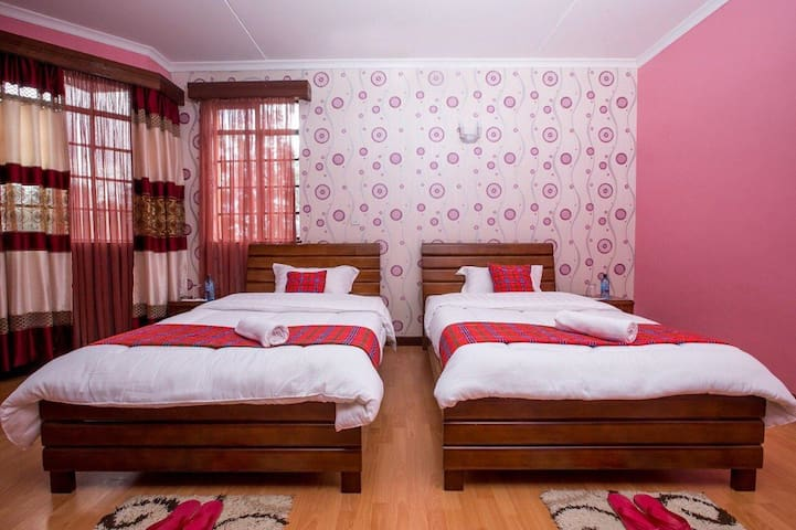 Cozy private bedroom in luxury house