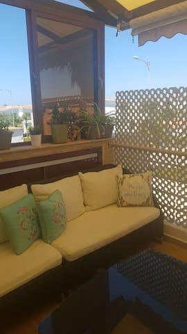 Très joli appartement aux perles de tamaris