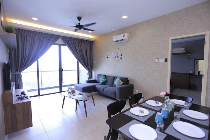 Panda Houz 2 Atlantis Residences Melaka Jonker