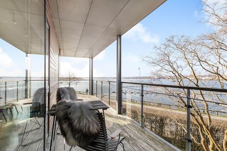 2. Værelse Skanderborg Sø, adgang til ugenert have