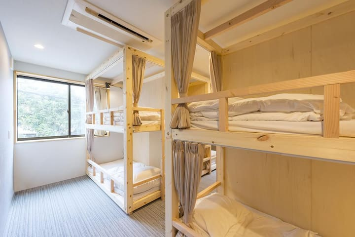 An inn newly opened in 2017! An accommodation plan for a good sound sleep. 2017年オープンの新築の宿!ぐっすり眠れる素泊まりプラン