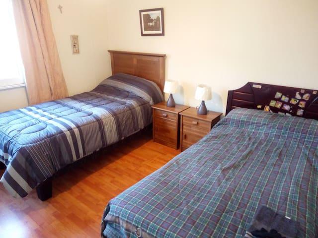 Hermosa habitación, 2 camas comuna de providencia