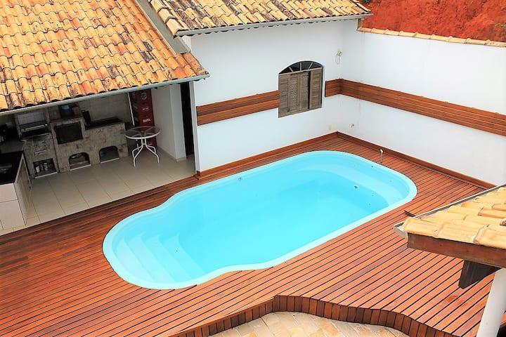 Linda e Confortável Casa em Sao Luiz do Paraitinga
