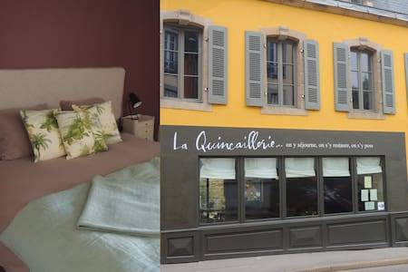 Ensuite room in a lovely old townhouse (ch.7) - Audierne - Bed & Breakfast