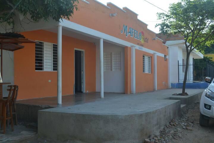 Habitación compartida en Mafelo Hostel