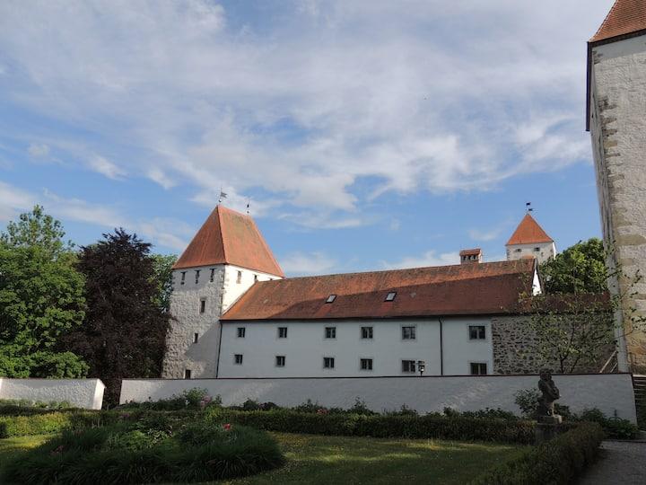 Unterkunft in historischem Schlossambiente