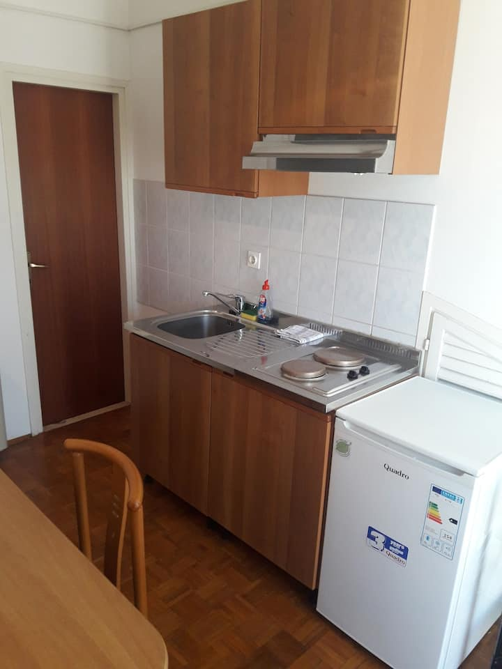 Studio Apartment, 200m from city center, seaside in Biograd, Balcony