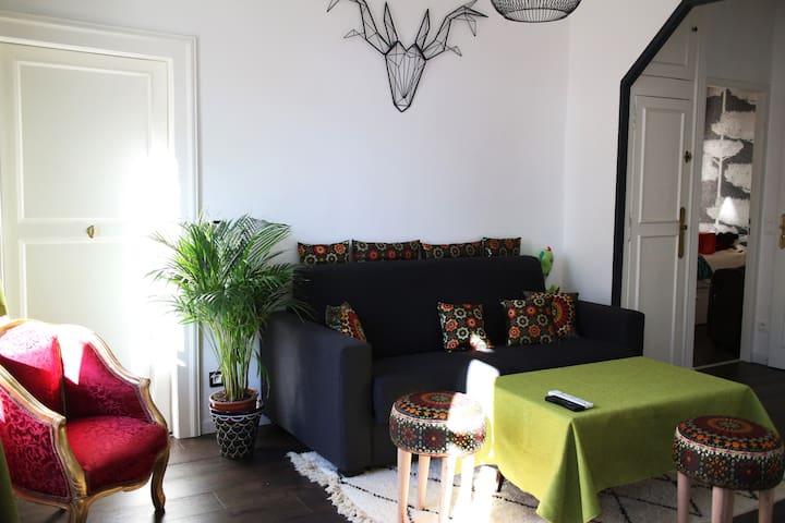 Chambre luxueuse, tout confort plein centre. - Montpellier - Appartamento