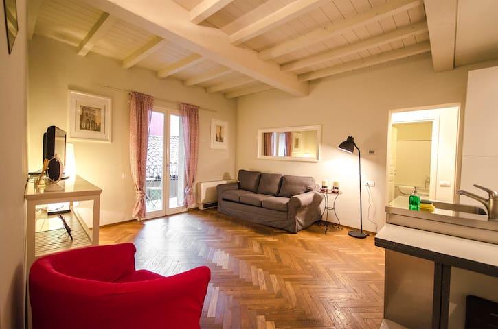 Azeglio apartment, neighboring Piazza Maggiore