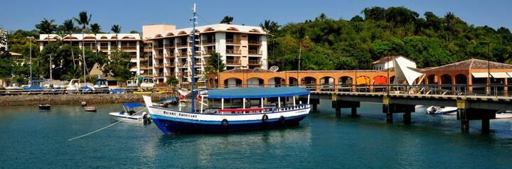 Flat Costa Oeste - Apartamento Ilha de Itaparica