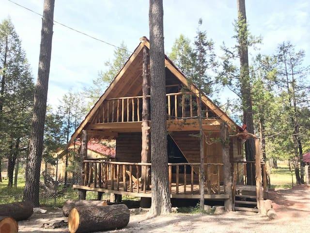 Linda cabaña en Durango