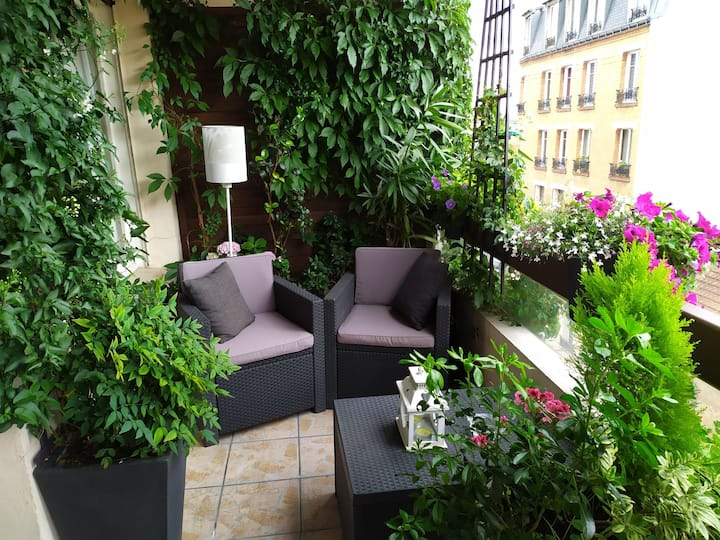 Agréable F1 31 m²+Terrasse 12 m²