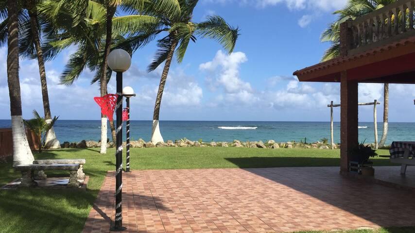 Nanda's Guayabo Beach House ocean facing room#1