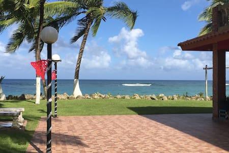 Nanda's Guayabo Beach House ocean facing room#1 - Aguada - Haus
