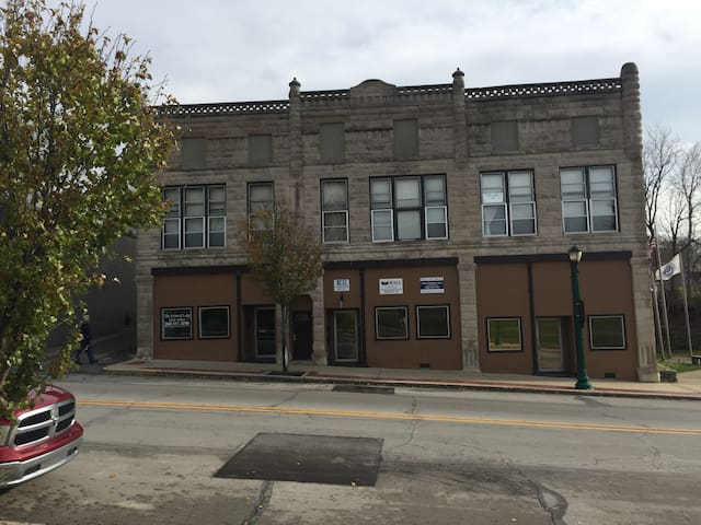 Located in historic downtown Wabash, convenient to shopping & restaurants