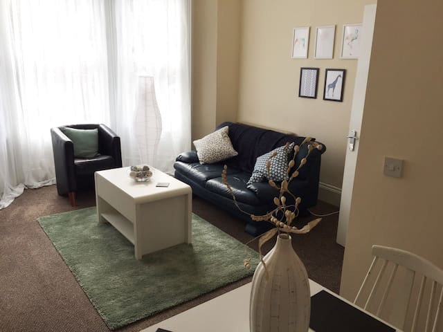 Bright and Spacious Apartment close to City Centre - Belfast - Byt