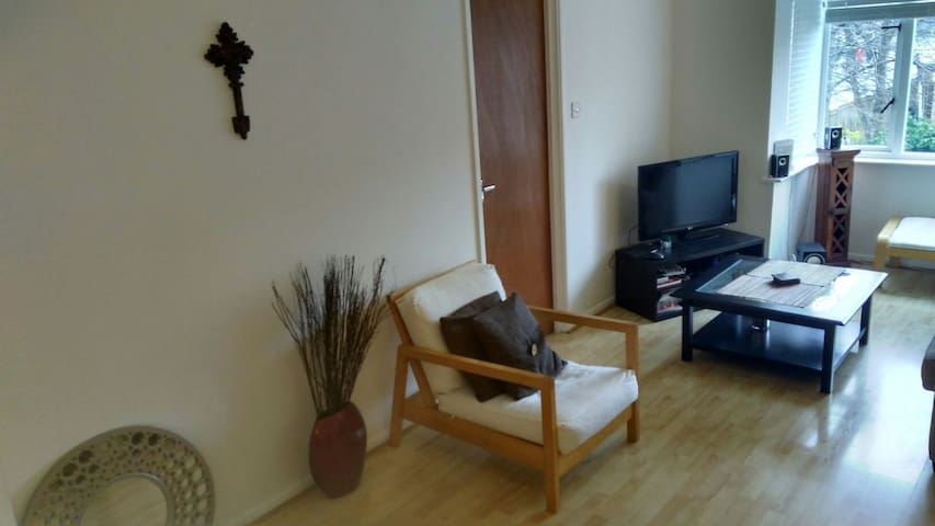 A lovely large 1-bed flat
