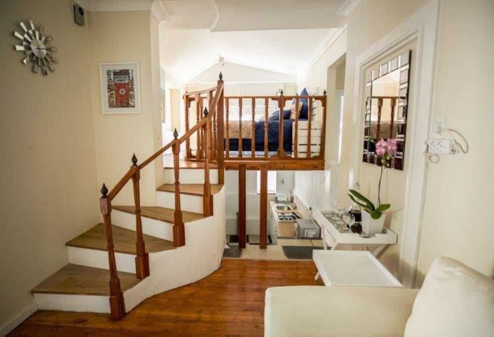 Stairwell to Bedroom