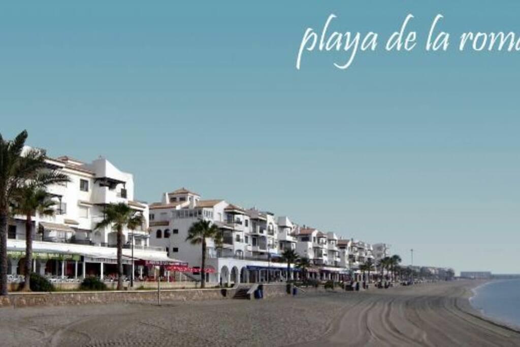 Estupendo piso a 50 metros de la playa wifi sat for Pisos de bancos en la playa