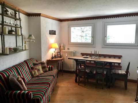 Cosy apartment Courmayeur/Verrand