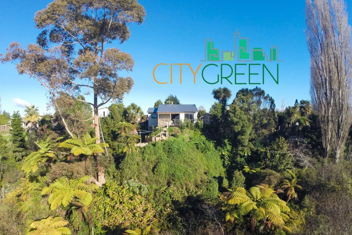 City Green locates heart of Hamilton with wonderful outlook over the valley