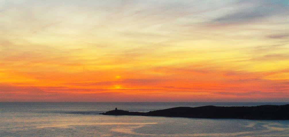 Cargèse plage du Pero presqu'île d'Omigna