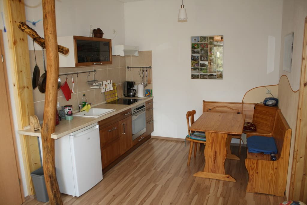 Teilbereich der Wohnküche